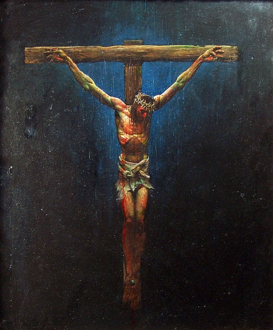 Jesus on the cross (1)